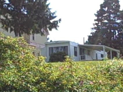 Exterior View from the Beach - Puget Sound Beach Home With Panoramic View - Port Orchard - rentals
