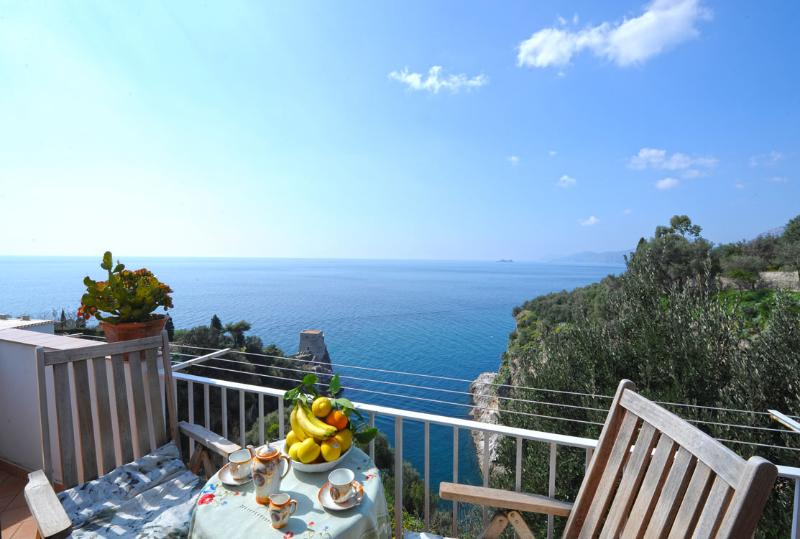 Apartment Lina in Praiano sea view - Image 1 - Praiano - rentals