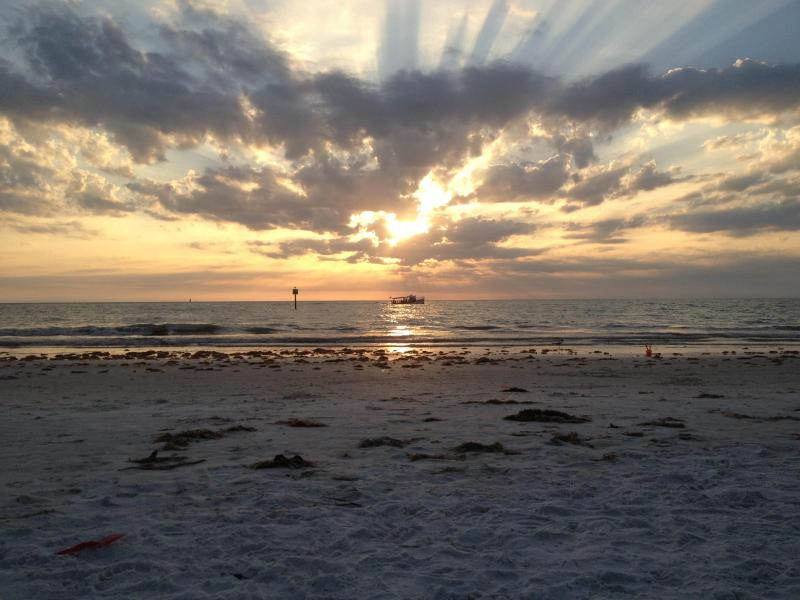 Lazy Dolphin - 3 Bdrs - Beachfront with Pool - Image 1 - Indian Rocks Beach - rentals