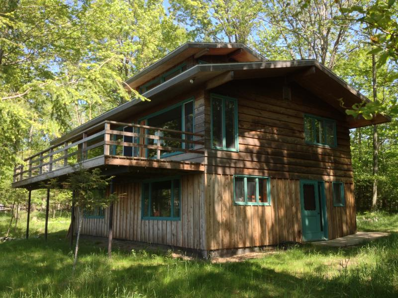 Lake Michigan Cabin - Private, Secluded Beachfront - Image 1 - Manistee - rentals