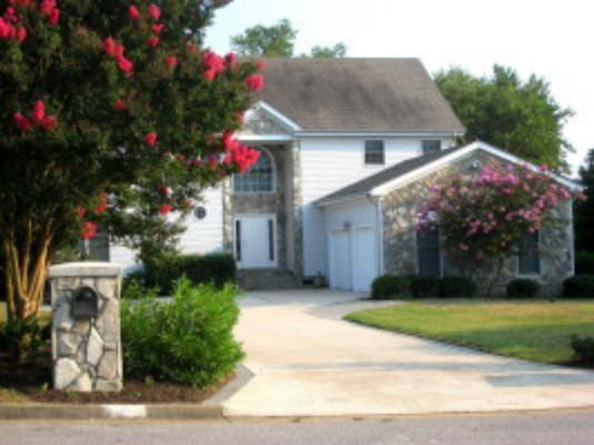 Front of home - 5 Br Executive Home: Exclusive Croatan Beach - Virginia Beach - rentals