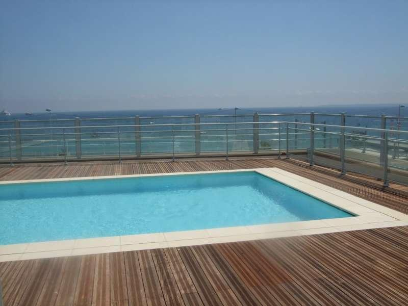 Roof top swimming pool with amazing views - Lovely Antibes Apartment with Roof Top Pool and Sea Views - Antibes - rentals