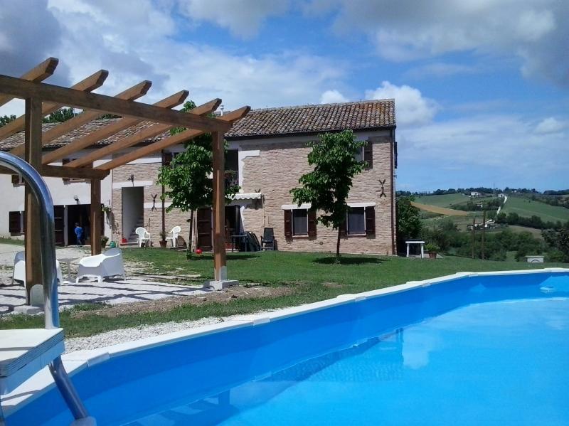 swimming pool casa Onda and ''gazebo'' - casa onda b&b appartments swimming pool near sea - Senigallia - rentals