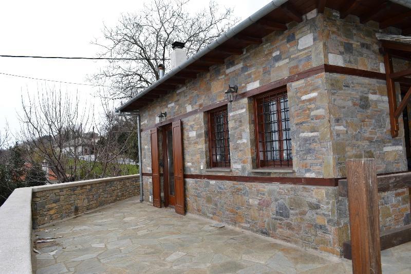 Stone House with a Fantastic View - Image 1 - Tsagarada - rentals