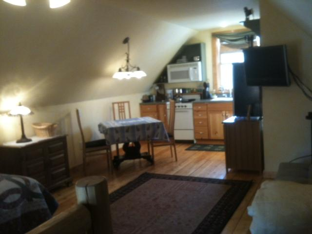 Looking toward bed - Sunriver studio on 15 acres-hot tub and internet - Bend - rentals