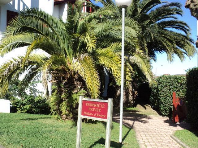 EXTERIEUR RESIDENCE - Appartement Dans Belle  Residence Avec Des Palmiers Pres De La Plage - Hendaye - rentals