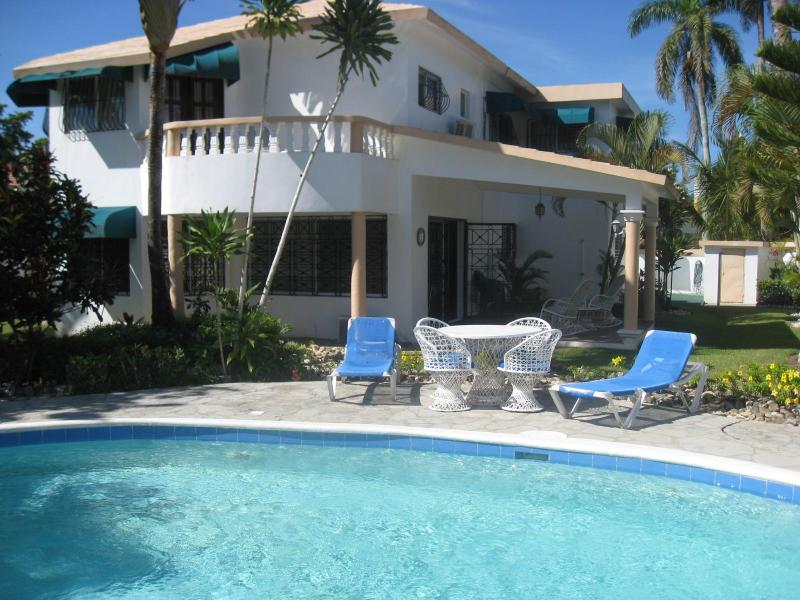 Poolside - Free Maid Service!! 5 Bedroom Villa Near the Beach. You'll Love it! - Cabarete - rentals