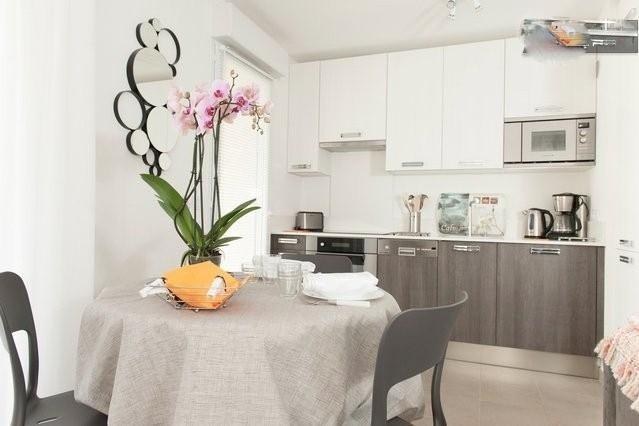 Luxury Apartment with a Grill, Balcony, and Garden - Image 1 - Saint-Andre-de-la-Roche - rentals
