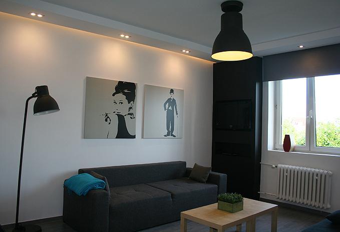 Heweliusza II Living Room - Old Town Apartment  Heweliusza - Gdansk - rentals