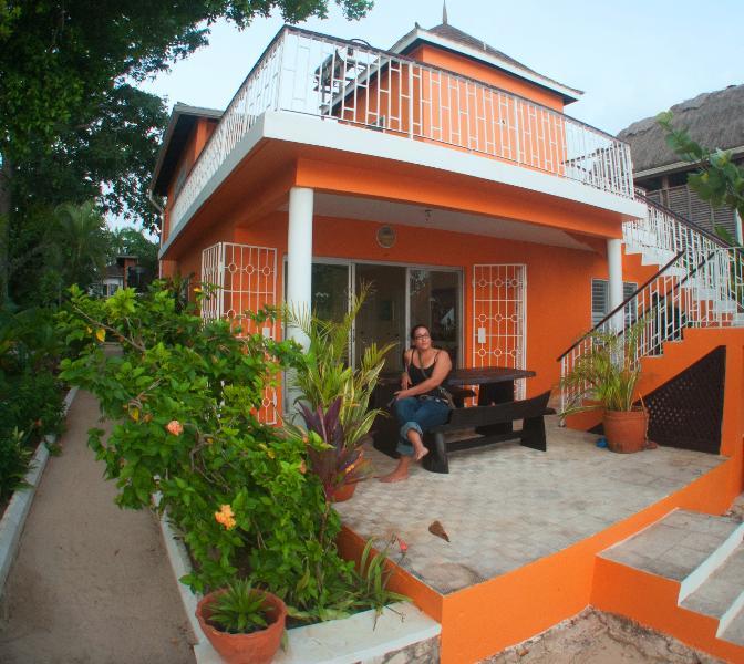 Soon Soon Beach front Villa 3 Bedroom - Image 1 - Negril - rentals