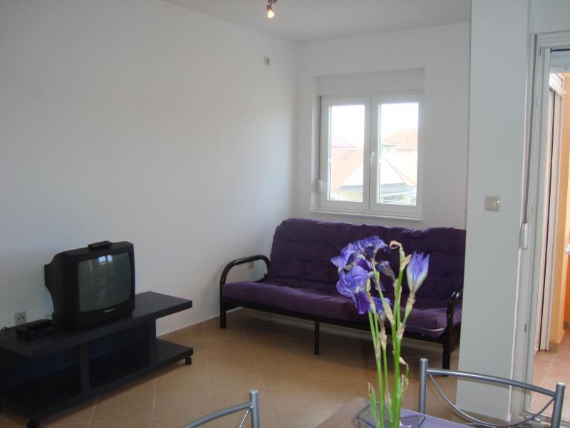 Livingroom - Nin, next to the beach, 2min drive to old town - Nin - rentals