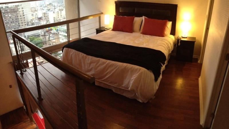 King Size Box Spring Bed on the Second Floor - Loft in Santiago's Best Location - Pomaire - rentals