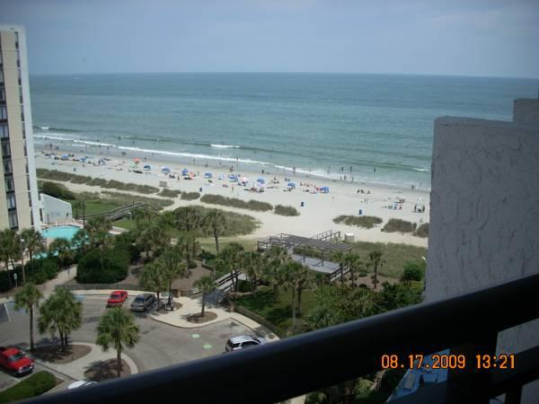 beautiful balcony view - Charming Condo 1 Bedroom King Suite with Angle Oceanview - Myrtle Beach - rentals