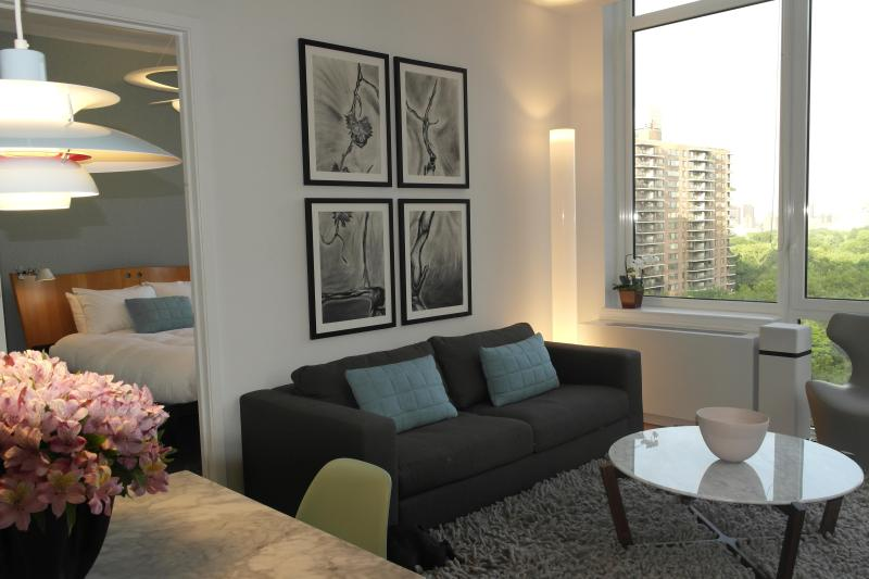 Central Park-Facing Luxury One Bedroom! - Image 1 - New York City - rentals