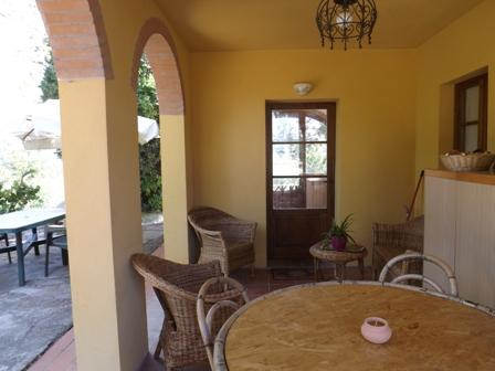 the patio - Delightful Apartment In Tuscany Coutryside - Castelnuovo Berardenga - rentals