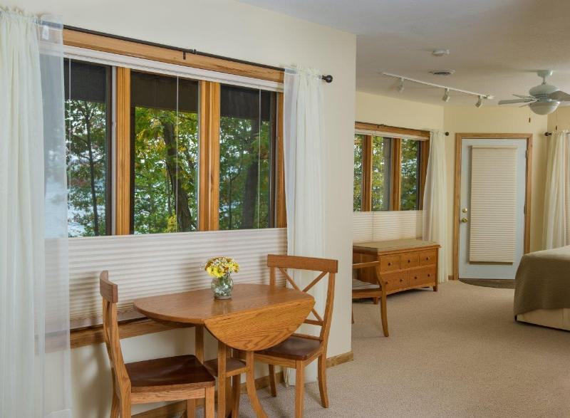 from dining area looking into bedroom - Luxury Iris Apartment on beautiful Seneca Lake, NY - Dundee - rentals