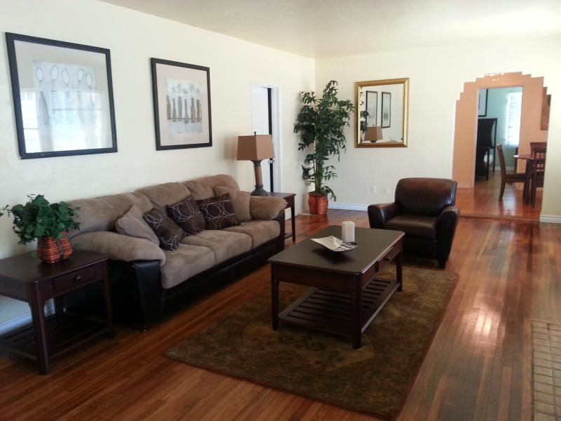 Living room view from the front loft area - Located Near Balboa Park, Zoo, Beaches & Downtown - Pacific Beach - rentals