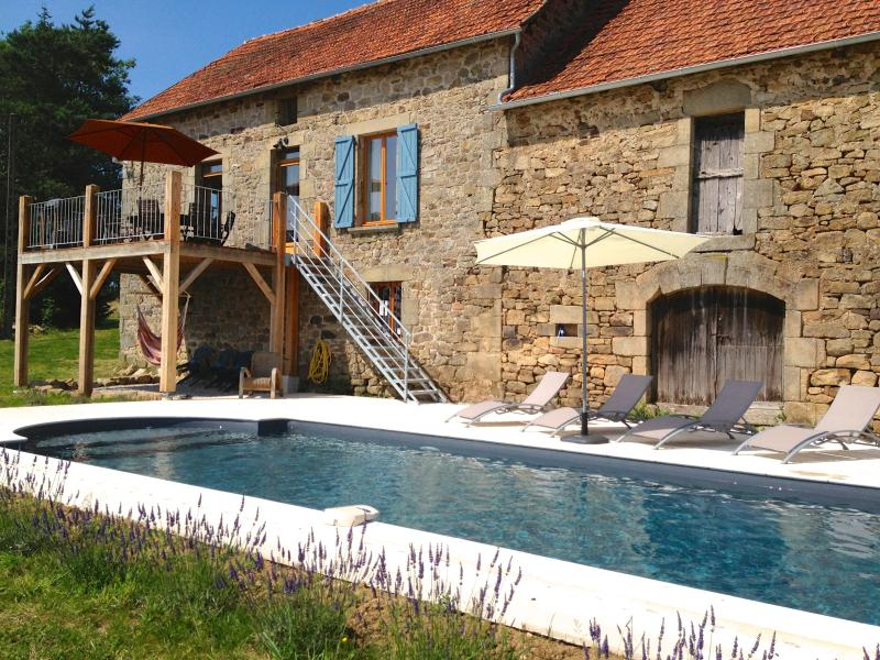 Luxury French Farmhouse - Modernised - Pool - Image 1 - Limousin - rentals