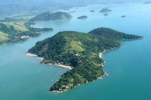Imagem Aerea da Ilha do Araújo - House Ilha do Araújo - Paraty - rentals