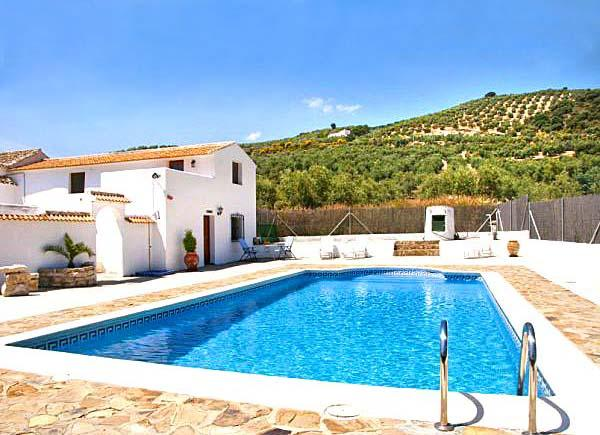 La Casita and pool - La Casita - sleeps 2 -  near Iznajar lake - Iznajar - rentals
