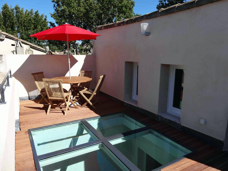 Terrasse - Wonderful 2 Bedroom Flat in Avignon with a Balcony - Avignon - rentals
