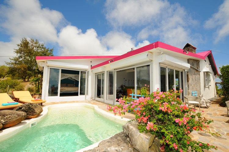 RODRIGUES; Villa w.Pool, chimney, housemaid/cook - Image 1 - Coromandel - rentals