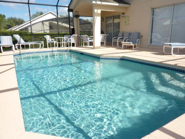 Villa Southern Dunes - Large pool deck - Villa Southern Dunes with Golf/Pool/Games/WiFi/BBQ - Haines City - rentals