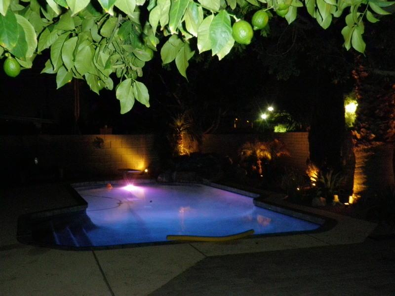 Night Pool - LUXURY HOME W/HEATED POOL-GOLF/FOOTBALL/BASEBALL++ - Litchfield Park - rentals