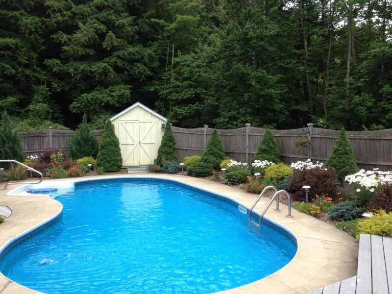 Full Pool View - New Pristine Berkshire Vacation Rental with Pool (5 miles Tanglewood) - Richmond - rentals