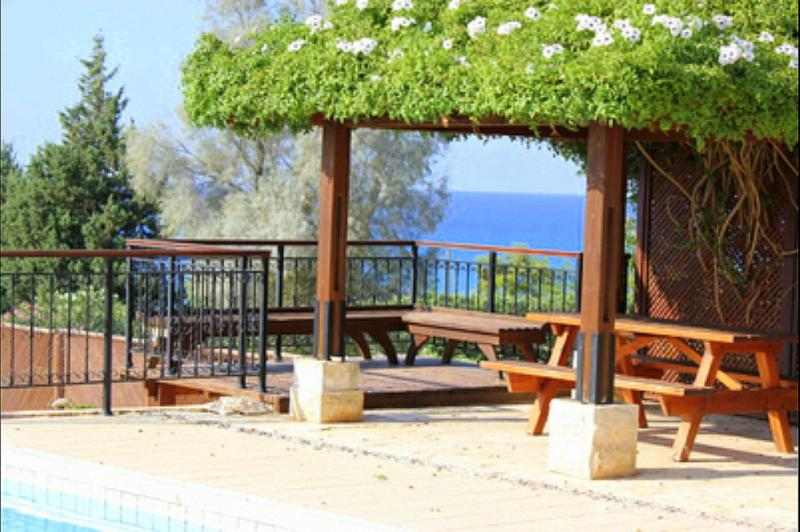 Impressive villa with pool and sea view - Image 1 - Paphos - rentals