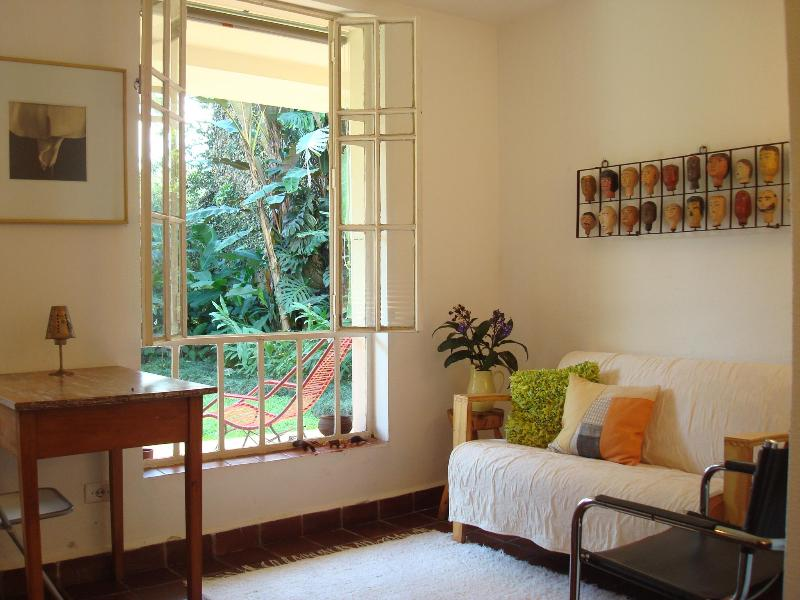 Sunny Flat With Tropical Garden - Image 1 - Santo Andre - rentals