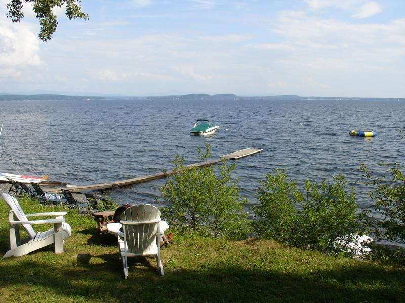 Tree Tops Beach Area - Tree Tops Cottages.  Up to 4 cottages available. - South Hero - rentals
