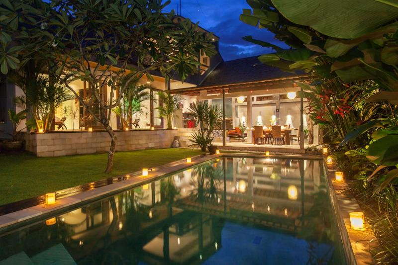 3 BR Riverside Villa Seminyak - Villa Liang - Image 1 - Seminyak - rentals