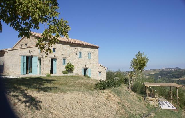 the farmhouse - Bio Fattoria Fontegeloni, LA VOLPE E L'UVA, 52 mq - Serra San Quirico - rentals