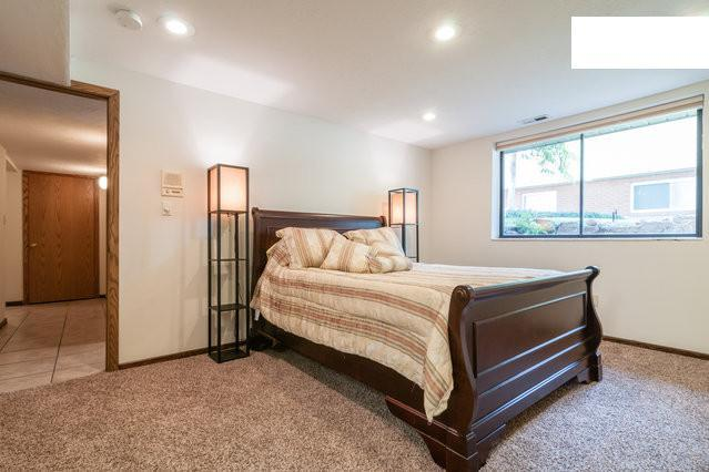 Master Bedroom - Private, comfortable apartment close to ski areas - Salt Lake City - rentals