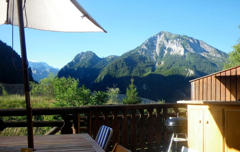 View from balcony - Chalet Manyetta - 4-6 adults, Paradiski - Champagny-en-Vanoise - rentals