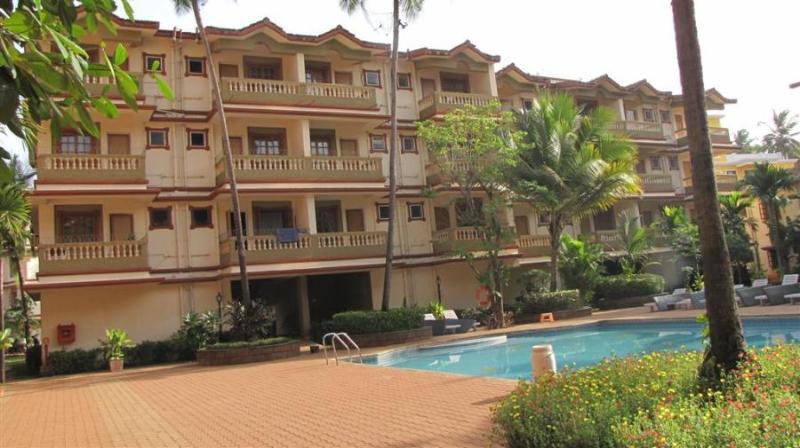 1 Bedroom  Furnished Apartment In Candolim,goa - Image 1 - Candolim - rentals