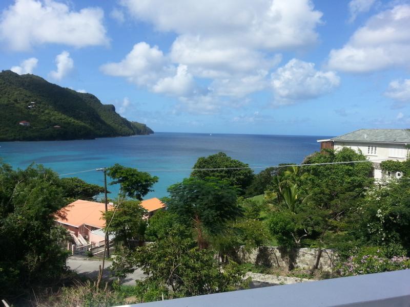 Views to the horizon & over looking Lower Bay Beach, from Twilight Villa - Twilight Villa, 3 bedrooms - Bequia - rentals