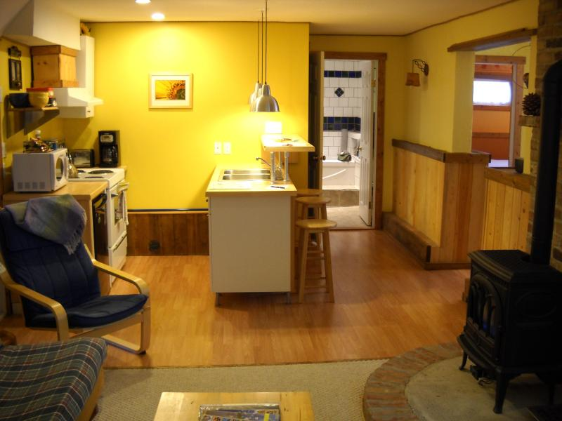 Kitchen - Pine Cones B&B, private suite with kitchen - Golden - rentals