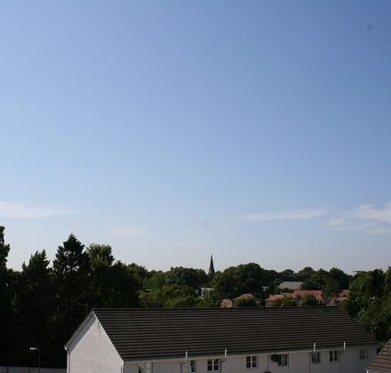 View from front window - Town View, Linlithgow near Edinburgh - sleeps 4 - Linlithgow - rentals