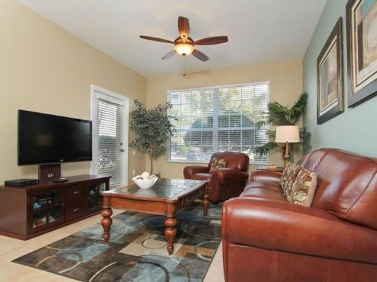 Living Room - Upgraded 3 Bedroom 2 Bathroom In Resort Near Disney. 2784AL-104 - Orlando - rentals