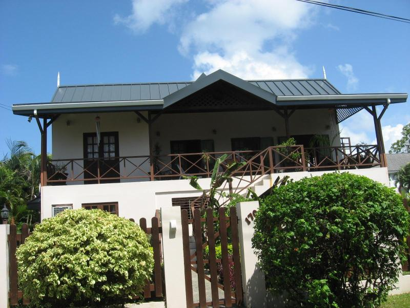 Front View of Villa - VillaBelleFleur - A Home away from Home - Crown Point - rentals