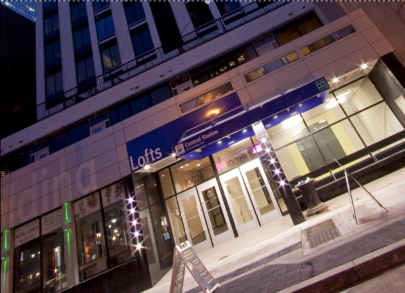 Front entrance to the lofts - In the Heart of Downtown Edmonton - Edmonton - rentals
