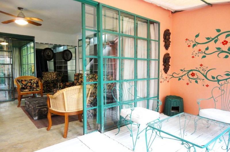 Colonial house patio, garden, pool. - Image 1 - Las Gamas - rentals