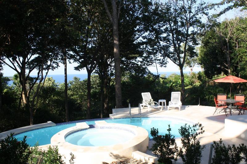 Villa pool - Villa Pochote - A Private Ocean View Beach Villa - Santa Teresa - rentals