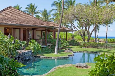 Oceanfront Nani Paniau with phenomenal views,  unique natural pool on lush grounds - Image 1 - Puako - rentals