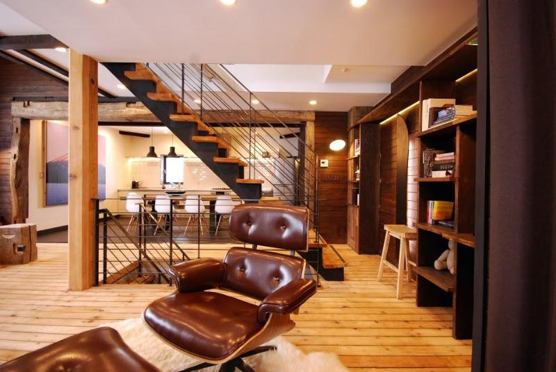 Living Room - Momiji Lodge - Niseko, Hirafu Middle Village - Niseko-cho - rentals