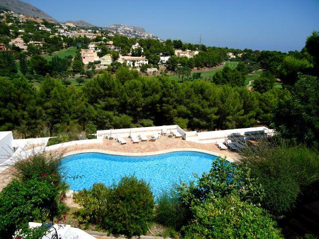 Costa Blanca, Altea La Vella, pool golf sea beach  Dutch satellite TV - Apartment, Altea(La Vella) 4 pers.on golf course - Altea la Vella - rentals