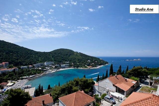 View from the balcony - Amazing sea view apartment - Dubrovnik - rentals