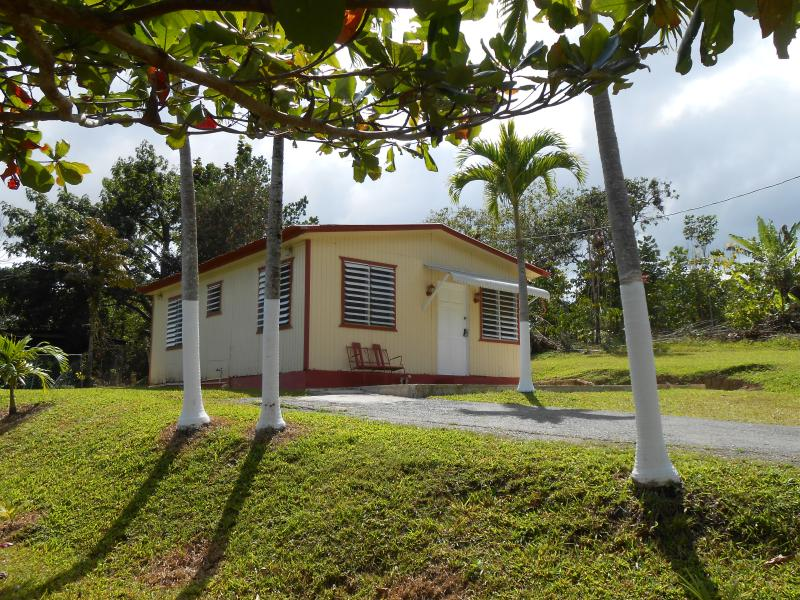 Beautiful front yard property - Cozy Mountain Paradise  (Casa Mendez) - Utuado - rentals